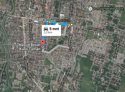 Pesona Keindahan Wisata Makam Masjid Kuno Taman Madiun Daftar Demikianlah