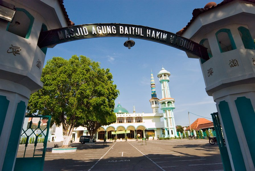 Masjid Agung Baitul Hakim Aloon2 Madiun Mapio Net Kab