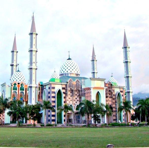 Masjid Agung Mamuju Sulawesi Barat Indonesia Masjids Mosques Baitul Hakim