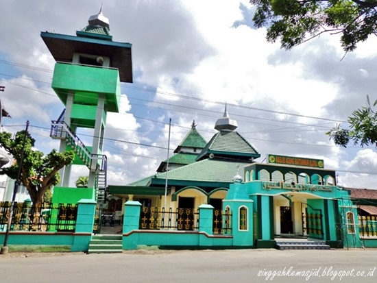 Singgah Masjid Agung Baitunnur Blora Baitul Hakim Kab Madiun