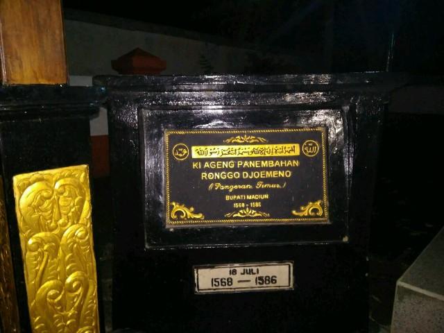 Jejak Pangeran Timur Masjid Kuno Kuncen Madiun Nusantara News Bukti