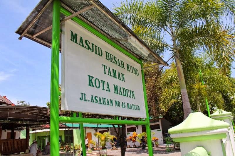 Makam Masjid Kuno Taman Madiun Info Wisata Online Tempat Cagar