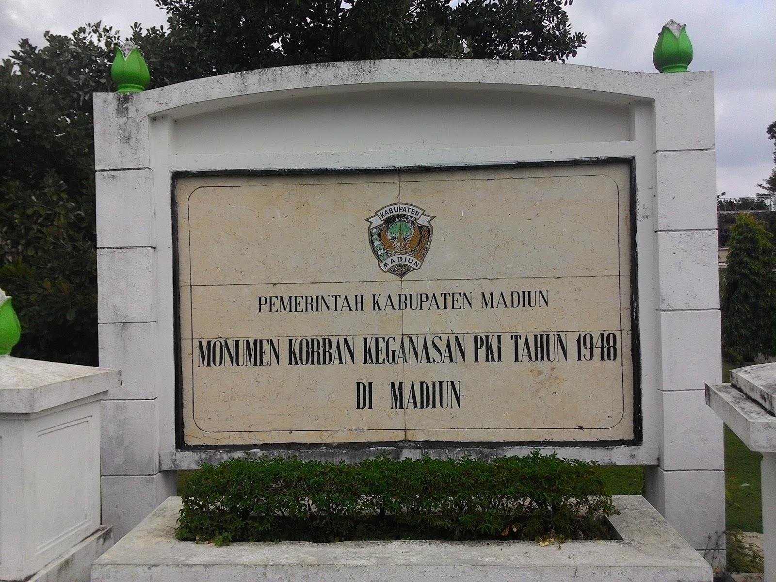 Monumen Kresek Bukti Kebrutalan Pki 1948 Madiun Punya Cerita Kab