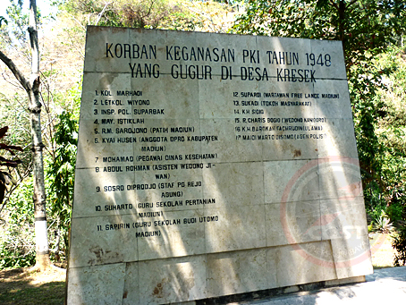 Monumen Kresek Bukti Kekejaman Pki Madiun Kaskus Kombat Merdeka Kab