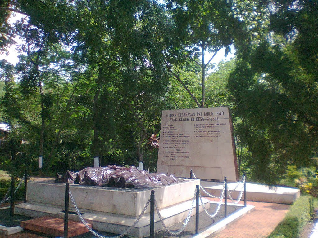 Monumen Kresek Dungus Mapio Net Madiun Kab