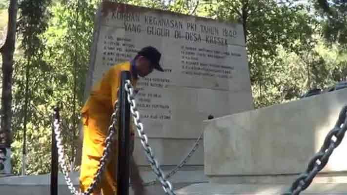 Monumen Kresek Sejarah Pemberontakan Pki Pimpinan Muso Pojok Pitu Kab