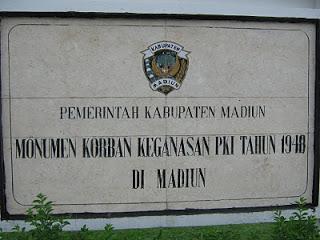 Wisata Madiun Monumen Kresek Affair Wongcrewchild Kab
