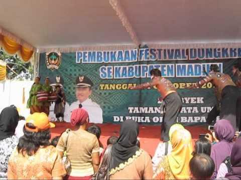 Festival Seni Pertunjukan Dhungkrek Se Kabupaten Madiun 2012 Mpg Palang
