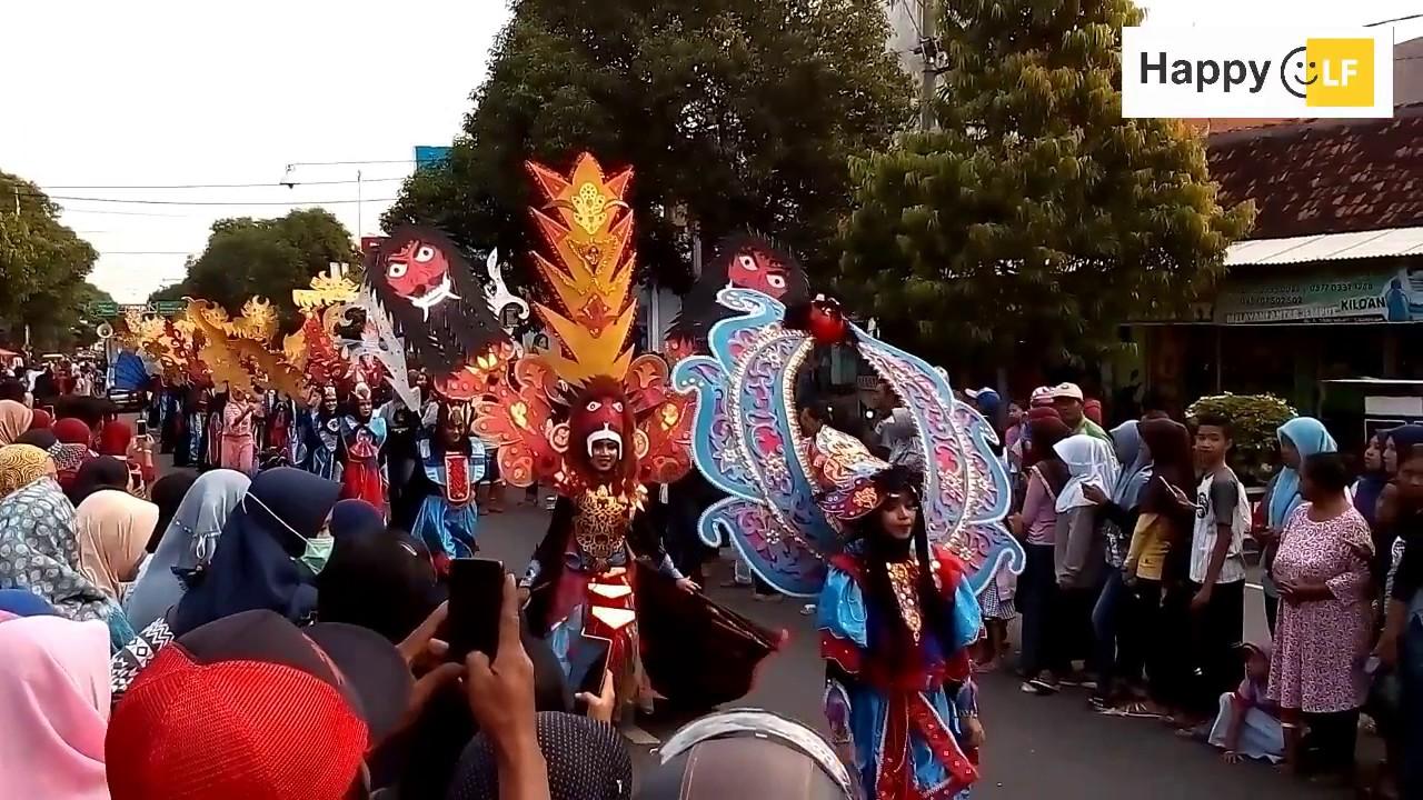Karnaval Kirab Budaya Seni Dongkrek Madiun 2017 Youtube Arts Culture