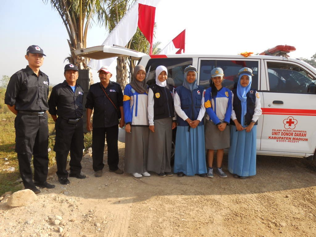 Palang Merah Indonesia Kabupaten Madiun Pelayanan Kesehatan Rangka Hut Ri
