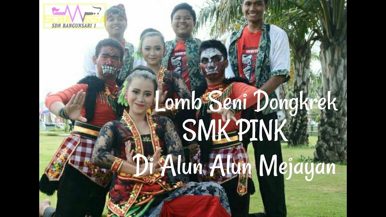 Penampilan Grop Dongkrek Smk Pink Alun Mejayan Kemarin Hari Jadi