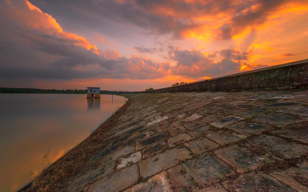 25 Tempat Wisata Madiun Wajib Dikunjungi Waktu Liburan Waduk Dawuhan
