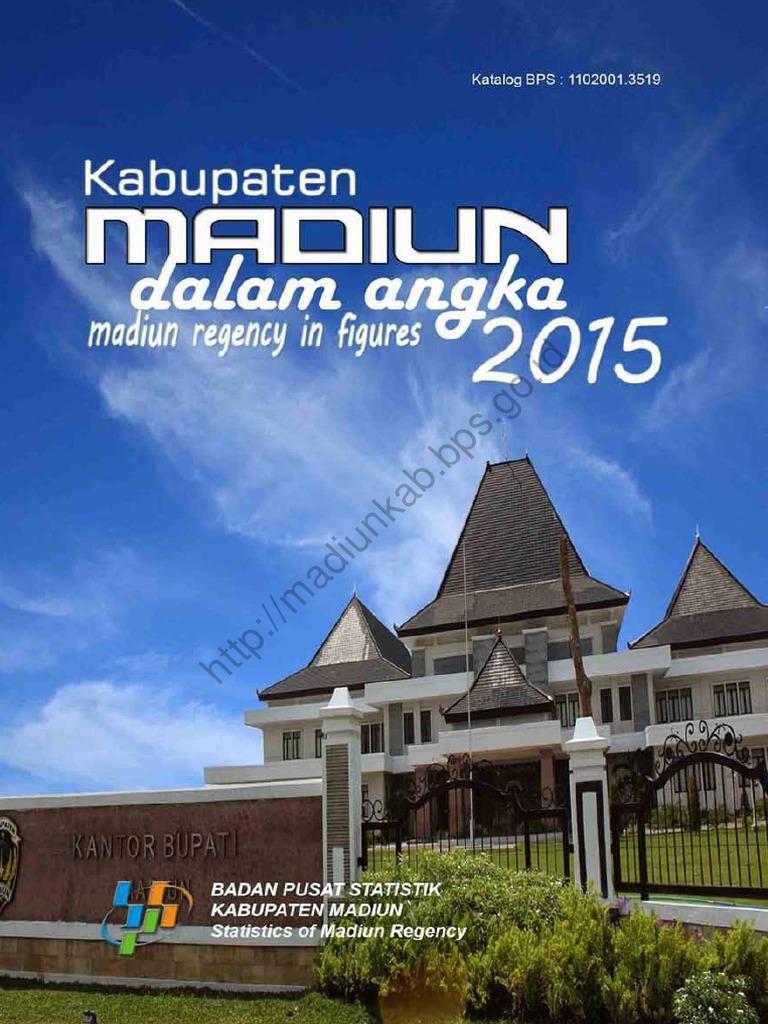 Kabupaten Madiun Angka 2015 Sendang Biru Kab