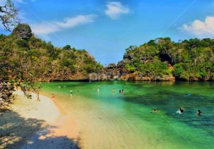 Liburan Pantai Sendang Biru Malang Tempat Wisata Terbaik Pulau Sempu