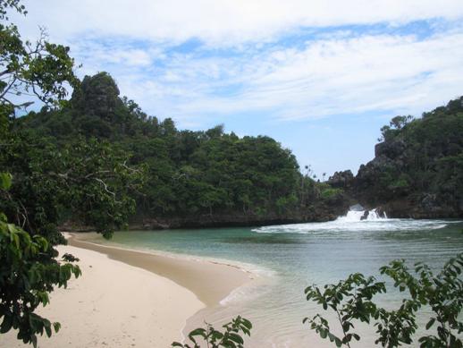 Pantai Sendang Biru Malang Indra Wijaya Tanggal 7 8 Syawal