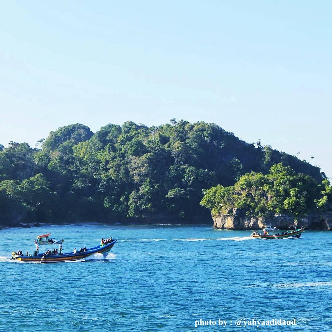 Pantai Sendang Biru Malang Sambil Berenang Sekalian Beli Ikan Madiun