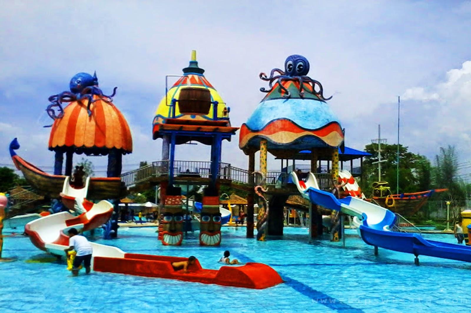 14 Tempat Wisata Madiun Patut Kunjungi Sun City Waterpaerk Theme