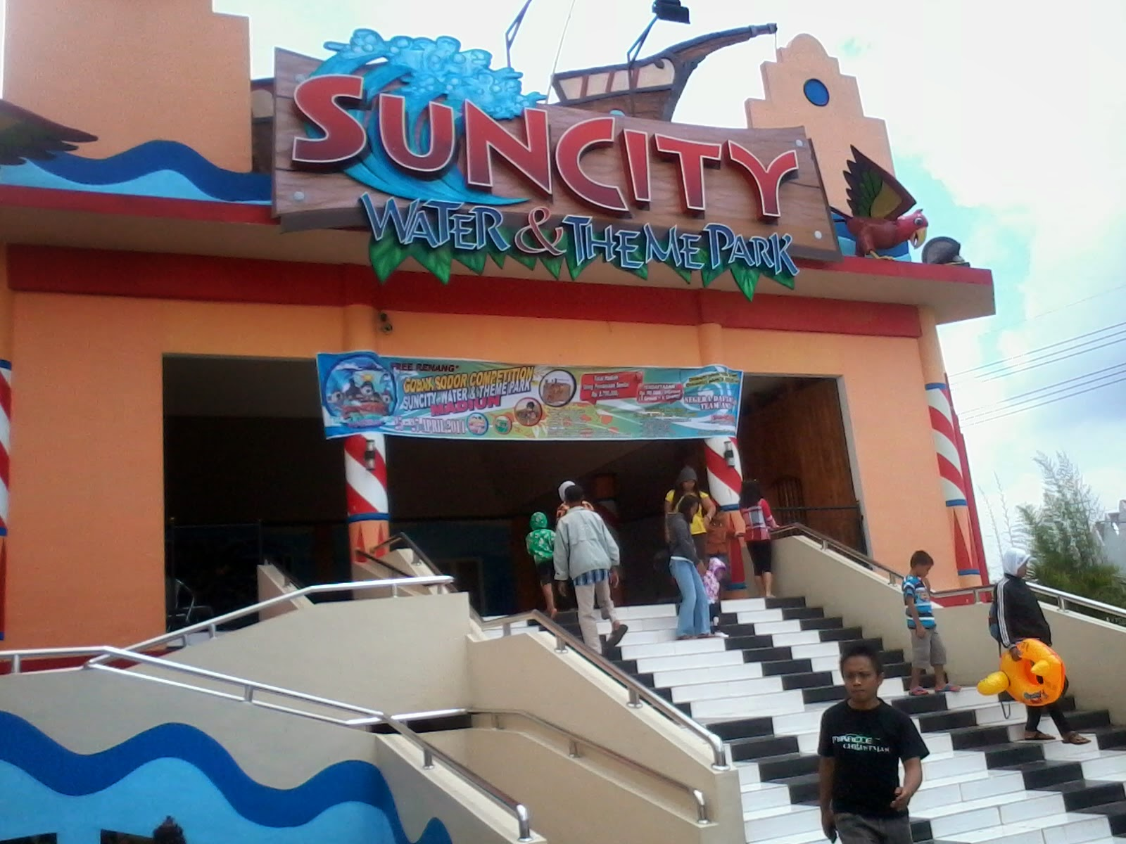 Edisi Keliling Kota Sun City Theme Park Kab Madiun