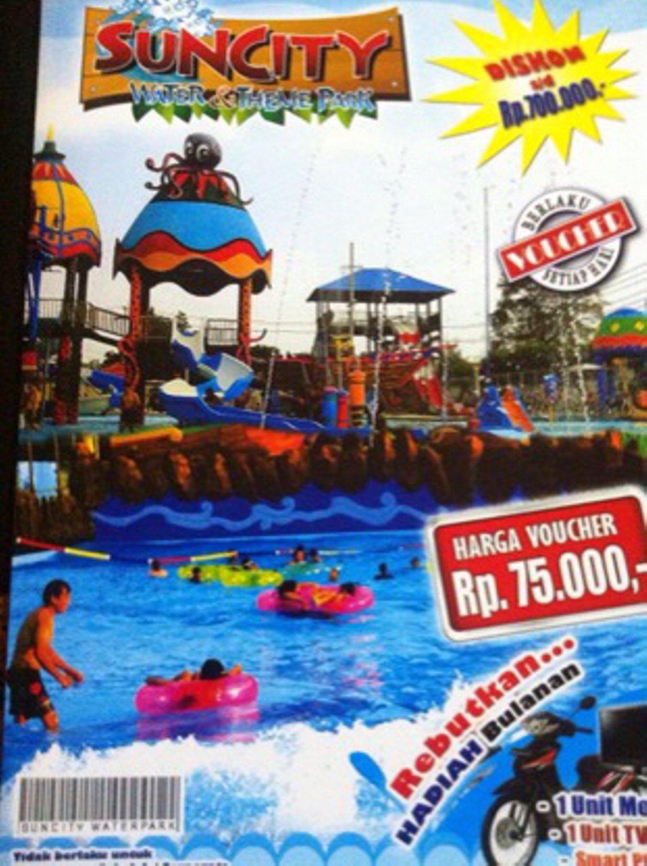 Jual Voucher Wahana Air Suncity Madiun Lapak Shindi Sun City