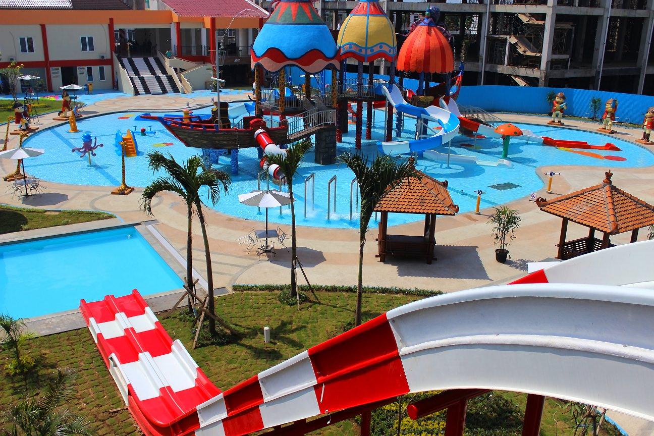 Kota Madiun Endahsetia Sun City Water Theme Park Salah Satu
