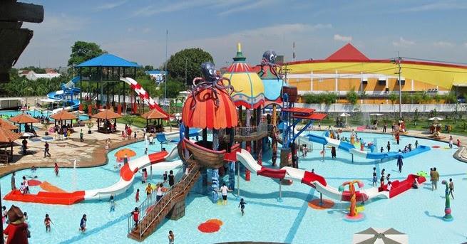 Pesona Keindahan Wisata Sun City Theme Park Madiun Daftar Tempat