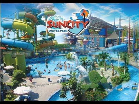 Serunya Suncity Water Park Sidoarjo Youtube Sun City Theme Kab