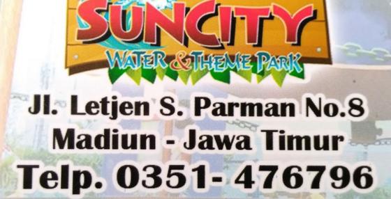 Suncity Waterpark Madiun Trip Salah Satu Wisata Andalan Kabupaten Themepark