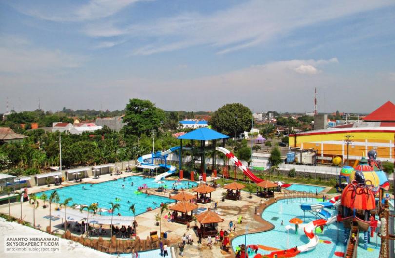 10 Wisata Madiun Rekomended Mulai Hits Dikunjungi Dumilah Waterpark Taman