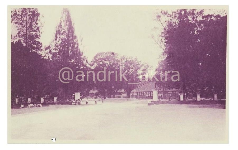 Pendopo Kabupaten Madiun Pangongangan Story History Bupati 1930 Taman Air