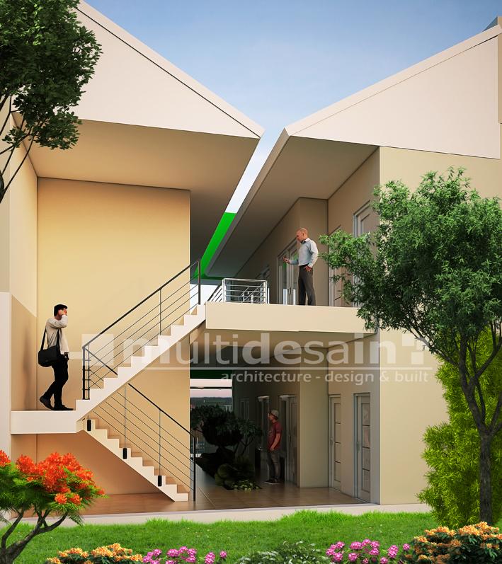 Arsitek Madiun Multidesain Part 3 Tengah Menjadi Taman Hijau Menyejukkan