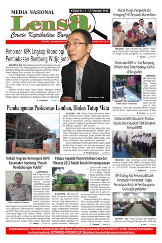 Edisi 61 1 15 Februari 2015 Lensa Nasional Issuu Page