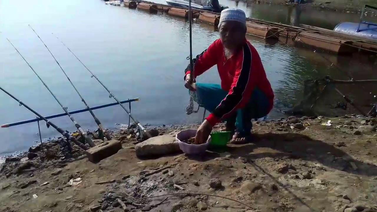 Waaoow Luar Biasa Tarik 6 Ikan Mancing Diwisata Waduk Bening