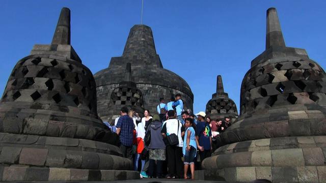Aksi Bela Rohingya Borobudur Tetap Terima Wisatawan Regional Domestik Maupun