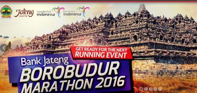 Borobudur Marathon 2016 Magelang Dienjoybisnis Kab