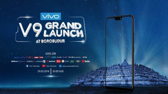 Borobudur News Peluncuran Vivo V9 Bakal Penuh Artis Grand Lounching