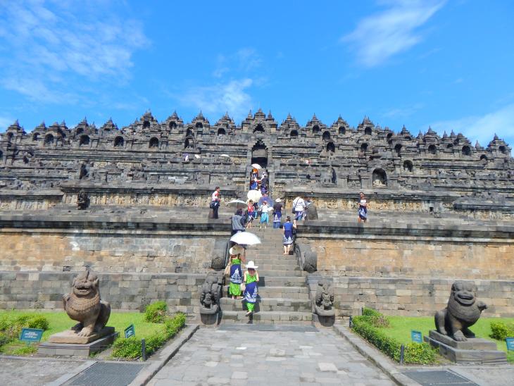 Candi Borobudur Destinasi Wisata Edukatif Kabupaten Magelang Kab
