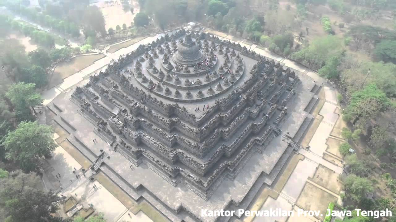 Candi Borobudur Kab Magelang Youtube