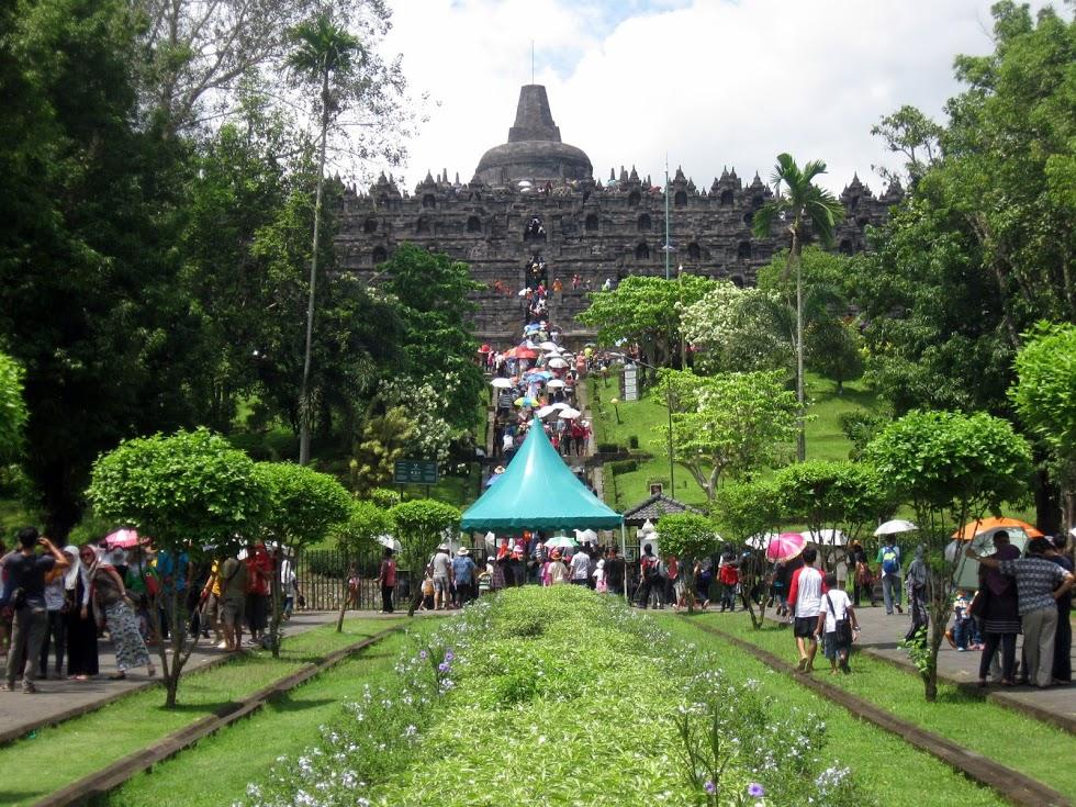 Candi Borobudur Kabupaten Magelang Indonesia Kab