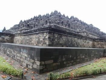 Candi Borobudur Magelang Jawa Tengah Budaya Terletak Desa Kabupaten Buddha