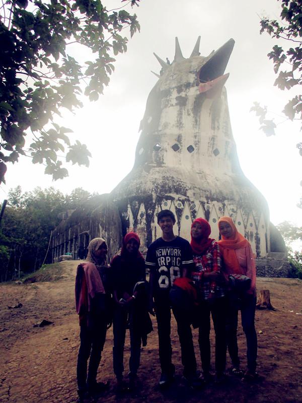 Gereja Ayam Kec Borobudur Kab Magelang