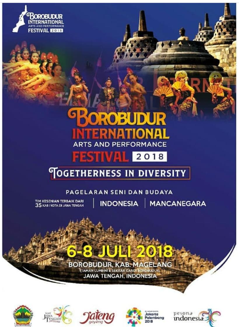 Jateng Live Event Magelang Borobudur International Art Perfomance Festival 2018