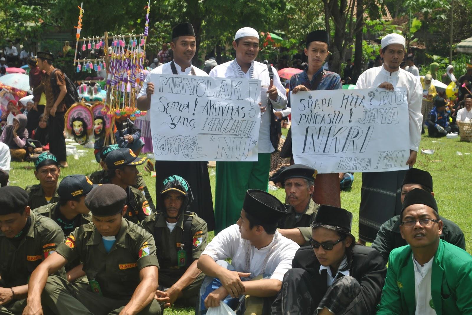 Nu Banser Waspadai Gerakan Terselubung Borobudur Info Kabarmagelang Ribuan Warga