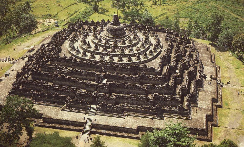 Obyek Wisata Terkenal Candi Borobudur Magelang Jawa Tengah Secara Geografis