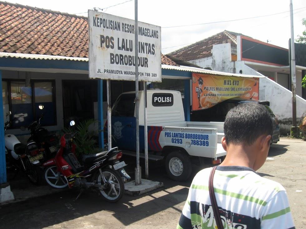 Pos Borobudur Kabupaten Magelang Indonesia Kab