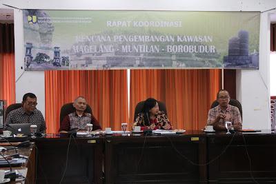 Rakor Pengembangan Kawasan Magelang Muntilan Borobudur Bappeda Dinas Pariwisata Kab