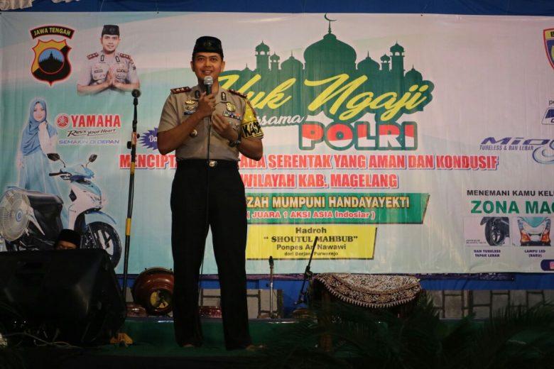 Tribrata News Polres Magelang Beri Komentar Borobudur Kab