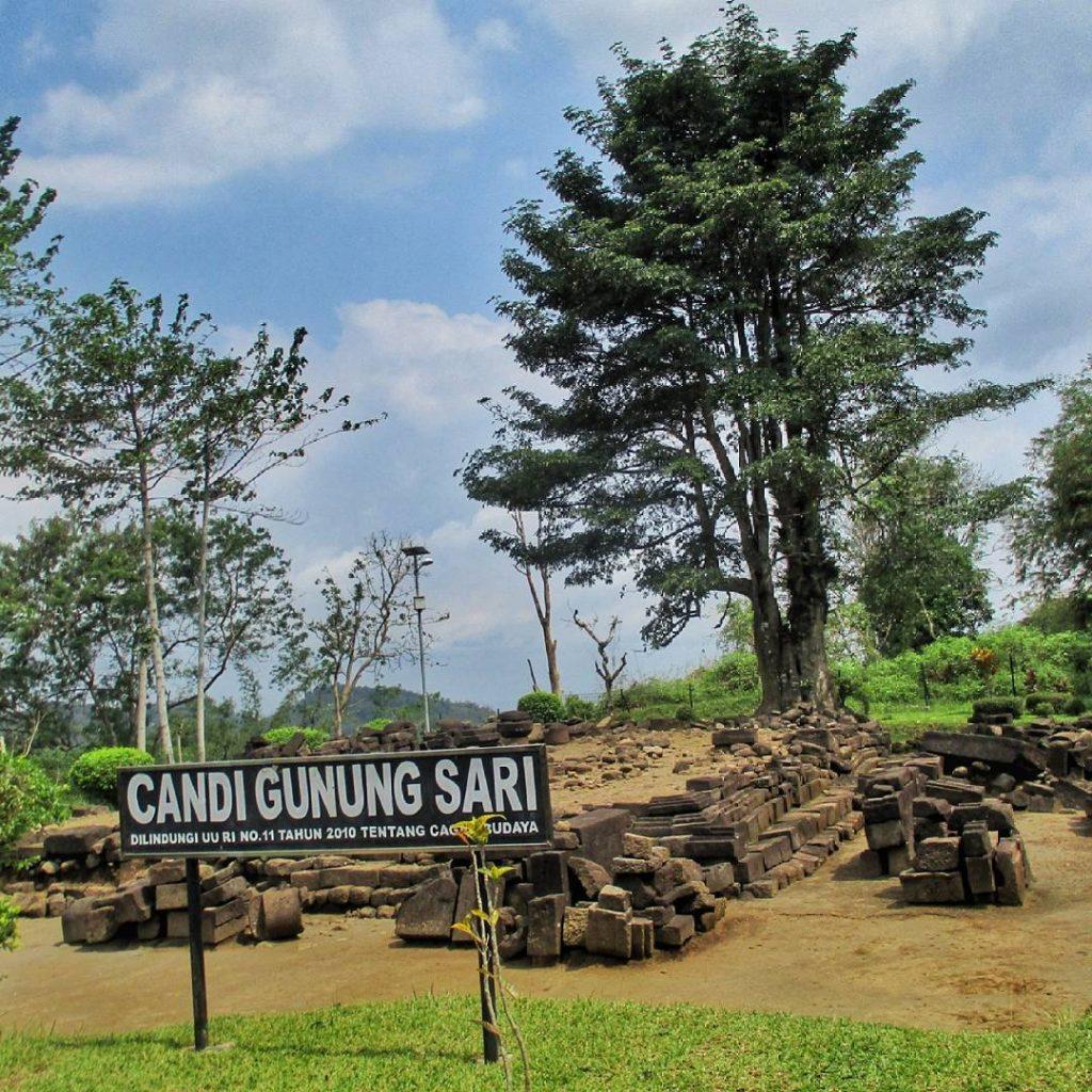 Candi Gunung Sari Benarkah Sesepuh Tanah Jawa Atas Perbukitan Kab