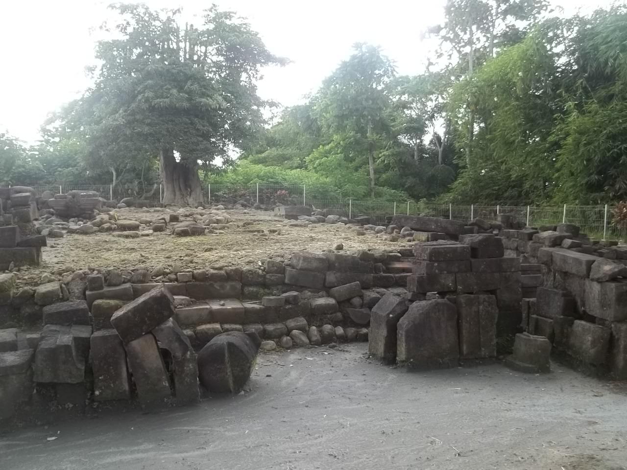 Candi Gunung Sari Wisata Yogyakarta Keindahan Terletak Pemandangan Alam Disekitar