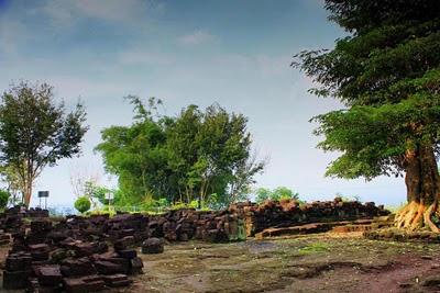 Candi Gunung Sari Wisata Yogyakarta Melihat Indahnya Kota Magelang Kompleks