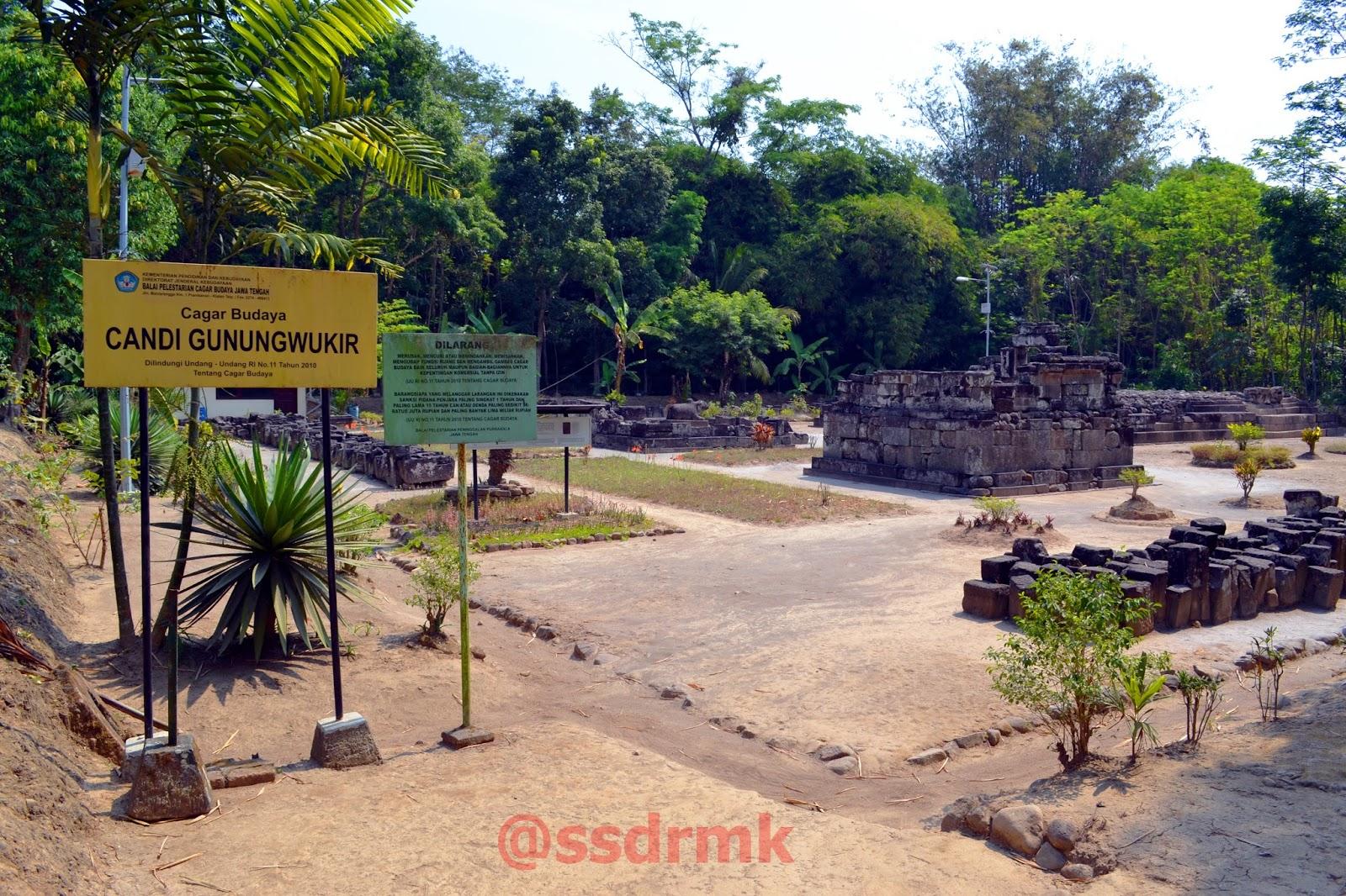 Candi Gunung Wukir Sasadara Manjer Kawuryan Sari Kab Magelang